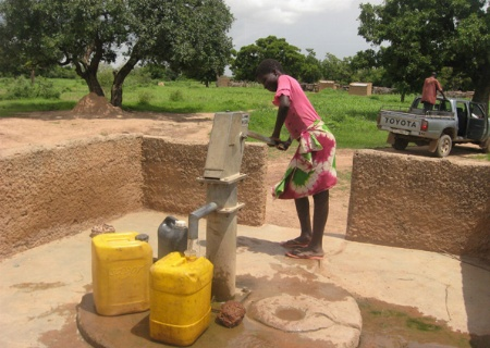 Adduction d'eau potable à Pabré - Burkina Faso